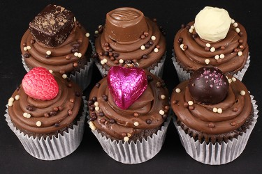 Chocolate Box Cupcakes - Box of 6