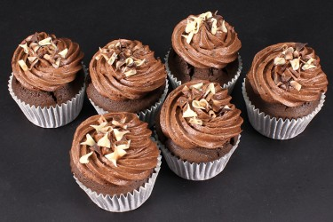 Chocolate Cupcake Indulgence - Box of 6