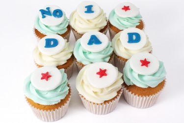 Dad Cupcakes - Gift Box of 9
