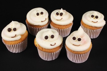 Ghost Cupcakes - Box of 16