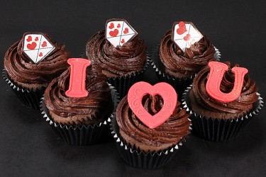 Love Letters Cupcakes - Box of 6