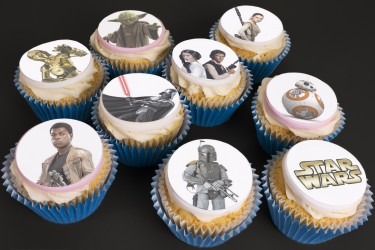 Your Favourite Character Cupcakes - Box of 16
