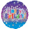 Happy Birthday Bright Stars Balloons