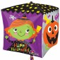 Happy Halloween Cubez Balloon