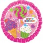 Candy Happy Birthday Balloon
