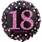 Celebration Pink 18th Birthday Balloon