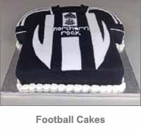 Football Cakes Category